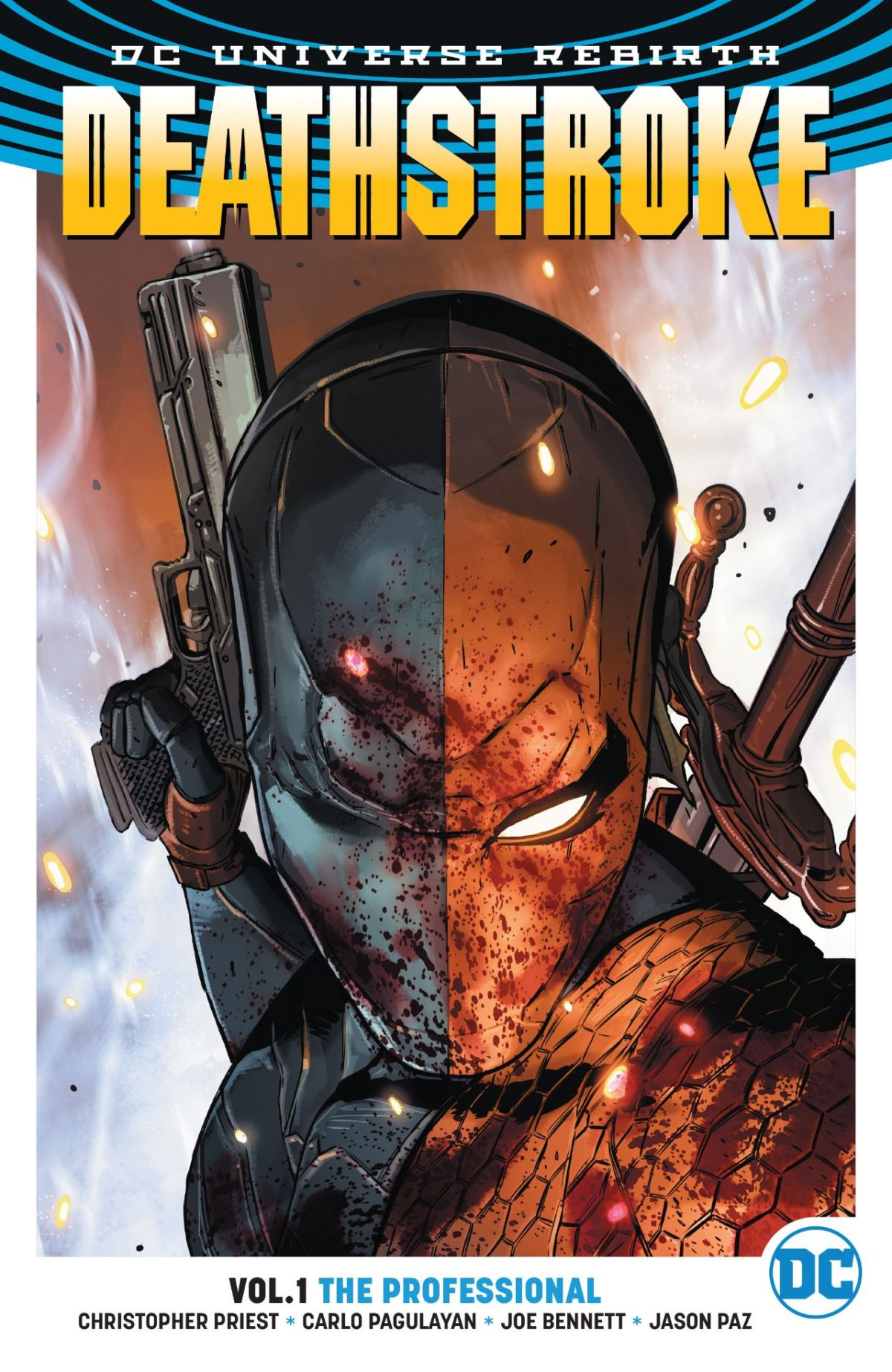 Comic Book Review – Deathstroke Rebirth Vol.1