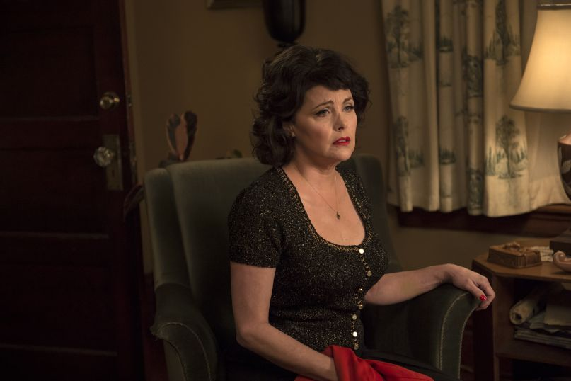 Sherilyn Fenn in a still from Twin Peaks. Photo: Suzanne Tenner/SHOWTIME