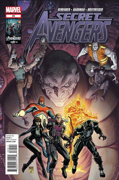 secret avengers 25