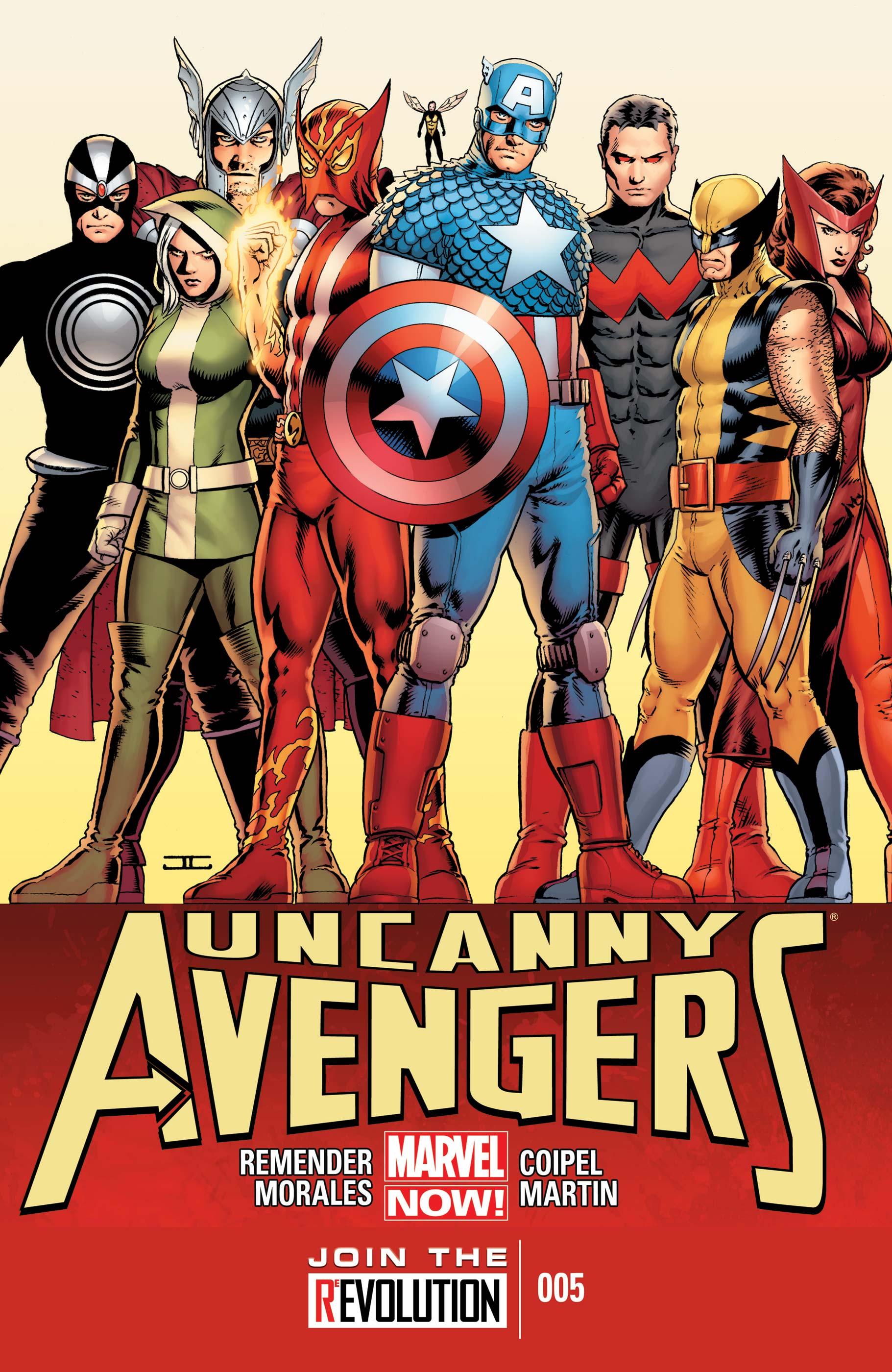 uncanny avengers main