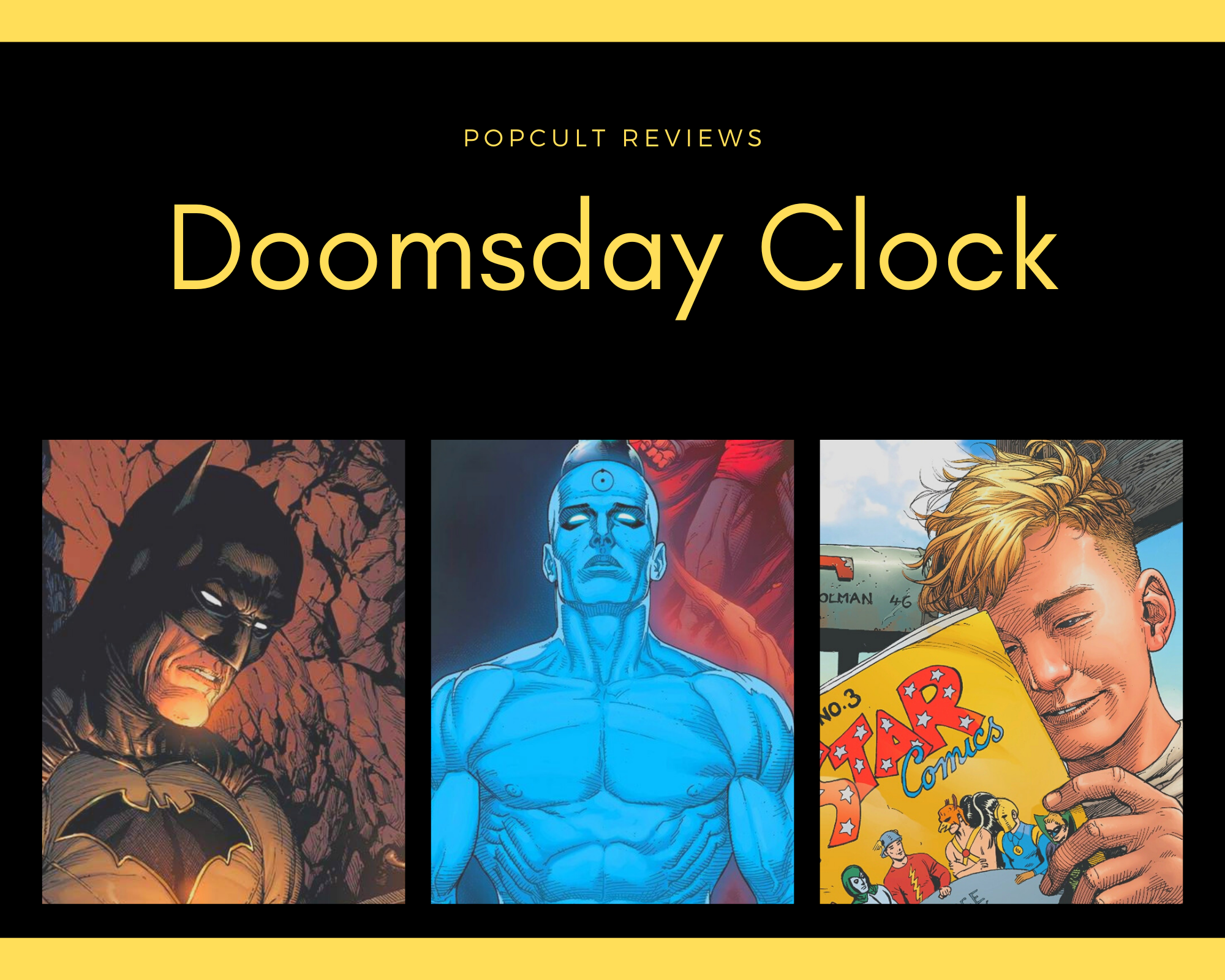 Comic Book Review Doomsday Clock